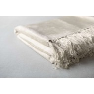 Bamboo Throw  - Ivory