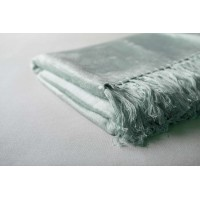 Bamboo Throw  - Silver