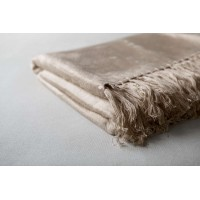 Bamboo Throw  - Taupe