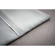 Bamboo Pillow Case - Silver